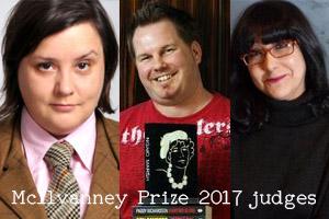 McIlvanney Prize 2017 judges!